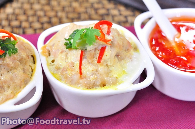 Steamed Minced Pork and Shrimp - Ma Auan (Thai Appetizer) - FoodTravel ...