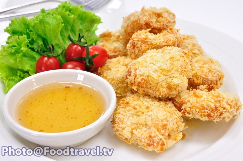 Deep Fried Shrimp Cake (Tod Mun Goong) - FoodTravel tv Recipe