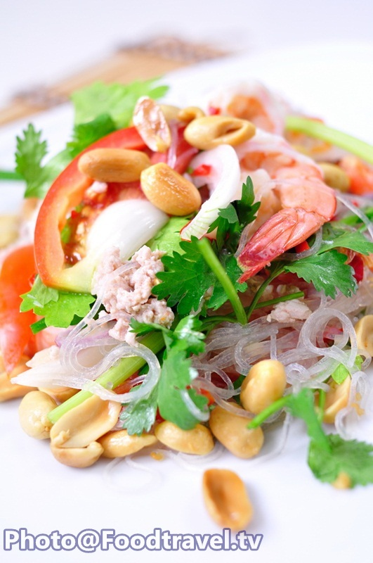 vermicelli noodle salad yum woon sen thai regular salad that you can ...